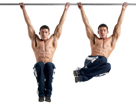 Bài tập Hanging Oblique Raise