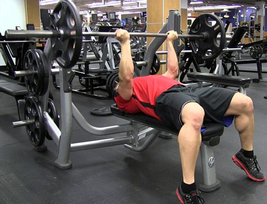 Bài tập Reverse Triceps Bench Press