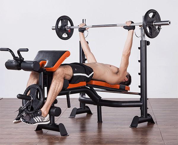Đẩy ngực ghế tạ GM 4380