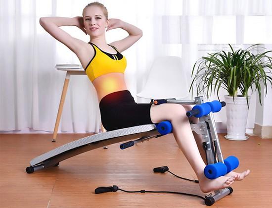 Ghế cong tập Gym tại nhà