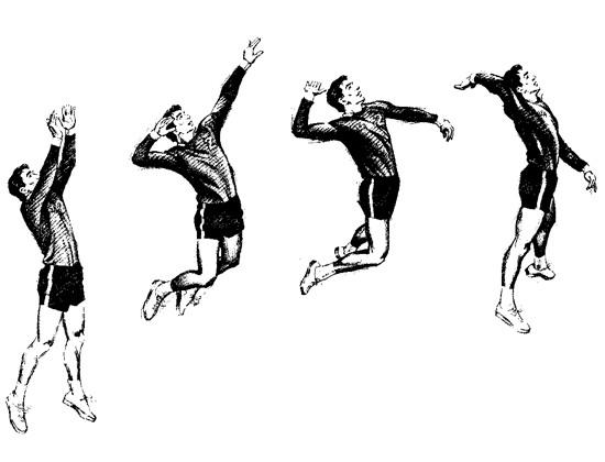 Kỹ thuật đánh bóng chuyền