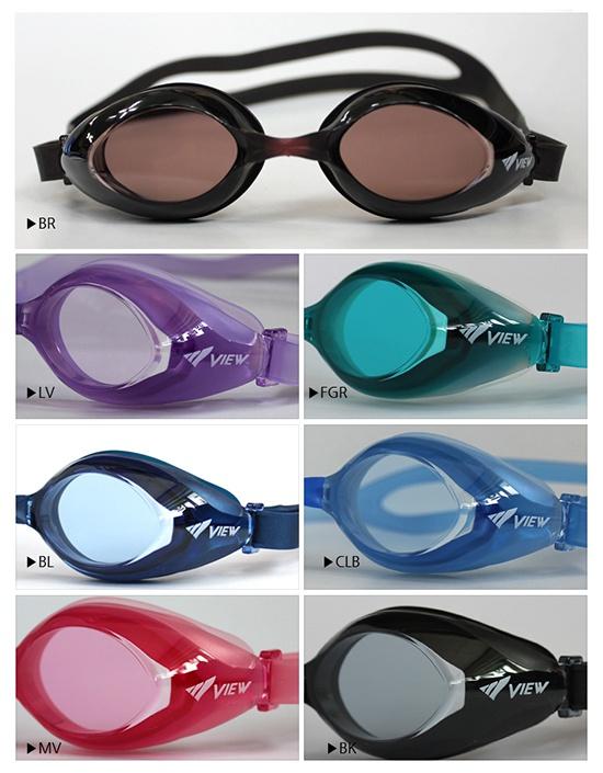 Màu sắc kính bơi View V825S