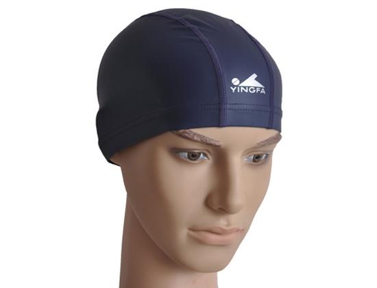 Mũ bơi Yingfa PU đen