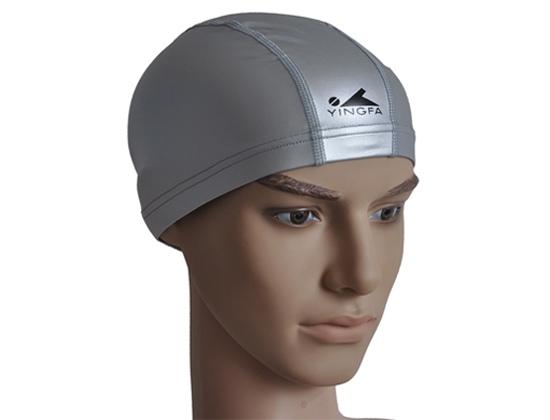 Mũ bơi Yingfa PU xám
