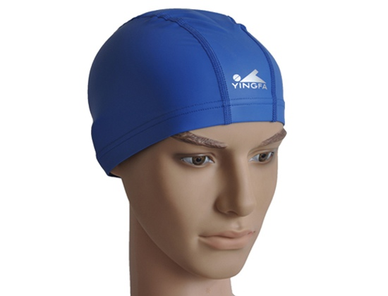 Mũ bơi Yingfa PU xanh