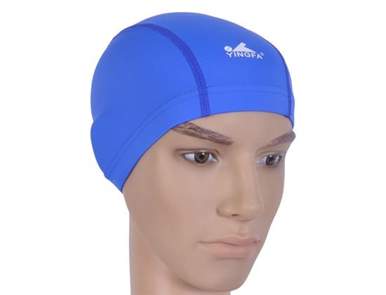 Mũ bơi vải Yingfa xanh