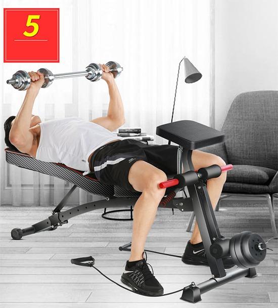 Tập đẩy ngực với ghế KK-021D