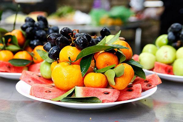 Ăn nhiều trái cây sau bữa ăn