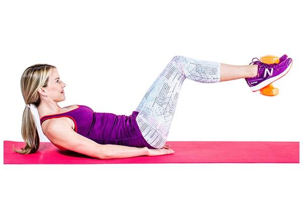 Bài tập Advanced Leg Crunches