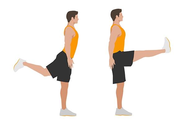 Bài tập Forward Leg Swings