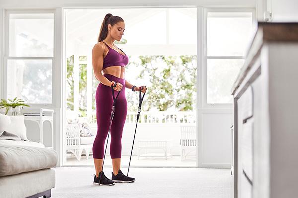 Dây đàn hồi tập Gym