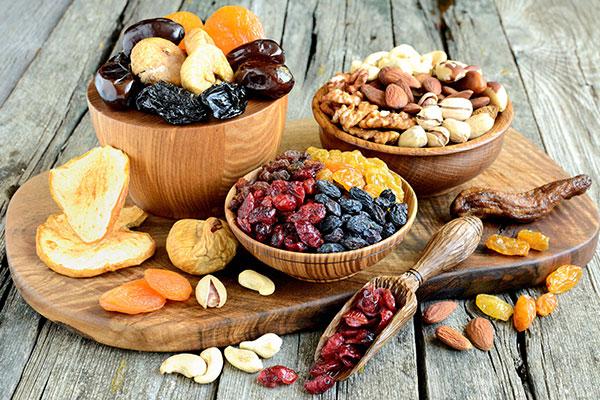 Hạt và quả khô