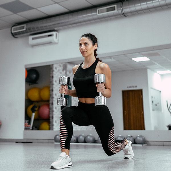 Lưu ý khi tập Gym nữ