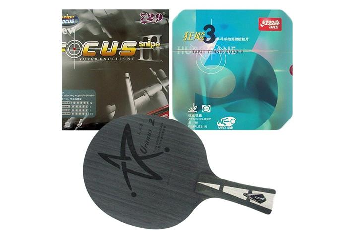 Cốt và mặt vợt bóng bàn