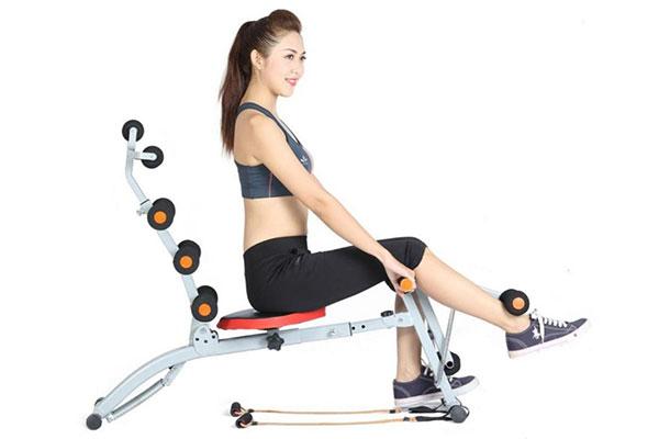 10 máy tập cơ bụng tại nhà và phòng Gym đánh tan mỡ tốt nhất