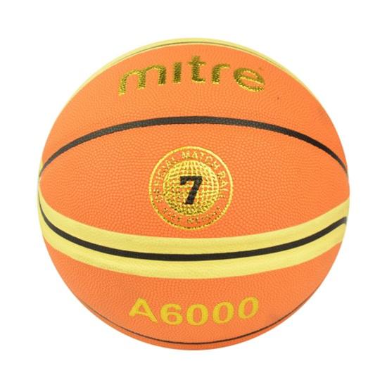 Quả bóng rổ Mitre A6000 da PU số 6, 7 dùng thi đấu giá rẻ nhất