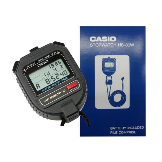 Đồng hồ bấm giây Casio HS 30W xịn, giá rẻ nhất tại Việt Nam