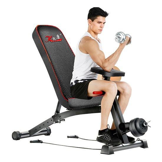 Ghế tập Gym KK-021D đa năng dùng tập tại nhà và giá rẻ nhất
