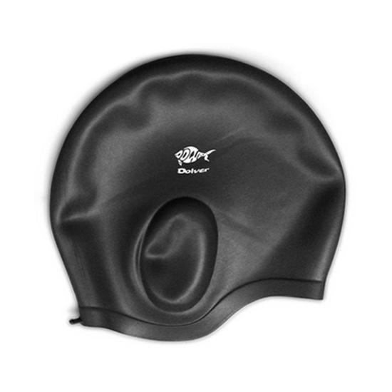 Mũ bơi Dolver có phần che tai giá rẻ nhất tại Dụng cụ Thể dục