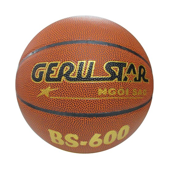 Quả bóng rổ Gerustar PVC BS-600 phù hợp dùng cho học sinh