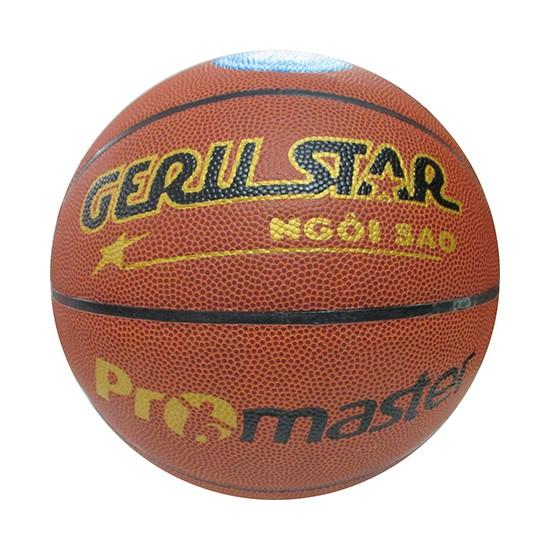 Quả bóng rổ Gerustar Promaster da xịn giá rẻ nhất ở Việt Nam