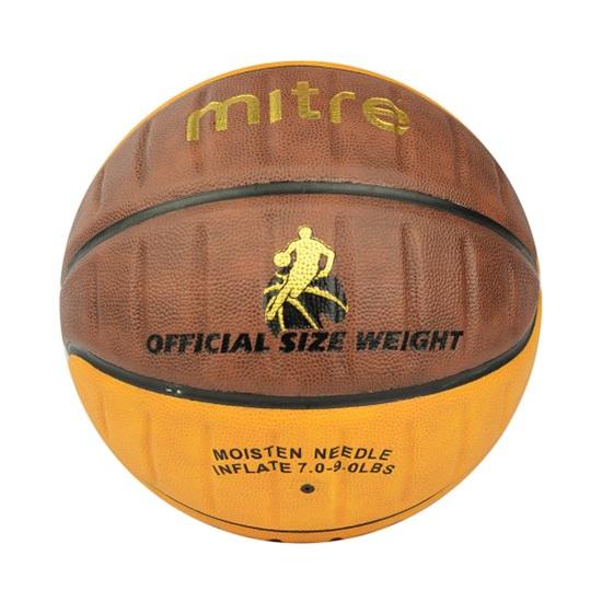 Quả bóng rổ Mitre A7000 chính hãng và đạt tiêu chuẩn thi đấu