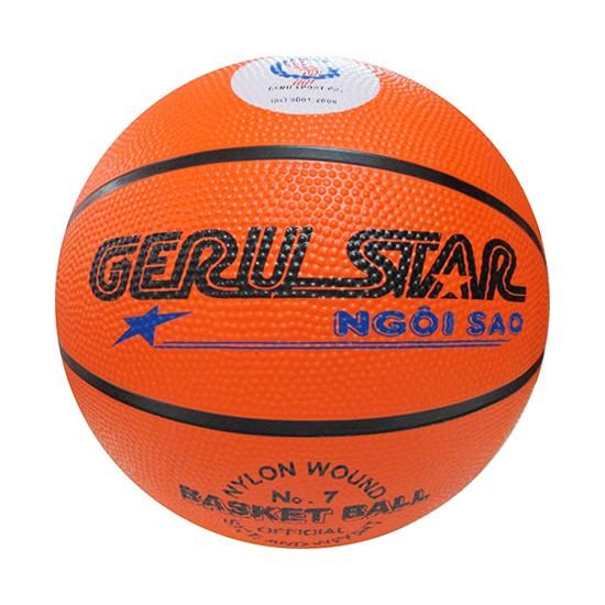 Quả bóng rổ Gerustar cao su số 3,5,6,7 giá rẻ nhất tại Việt Nam