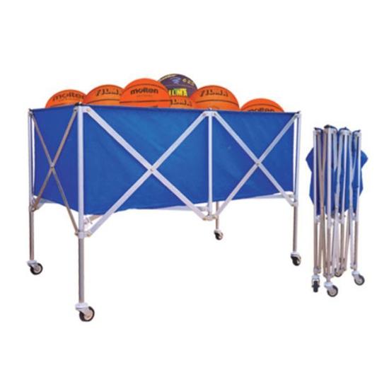 Xe đựng bóng rổ 801599 chính hãng Vifa Sport và giá rẻ nhất