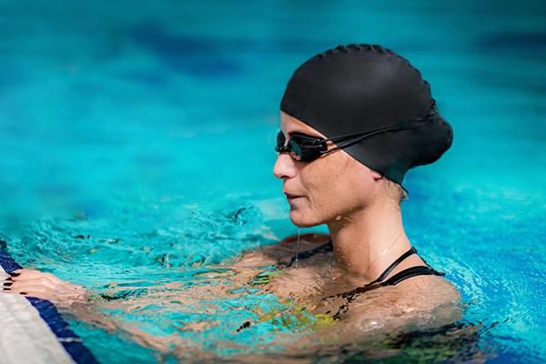 Tác dụng của mũ bơi