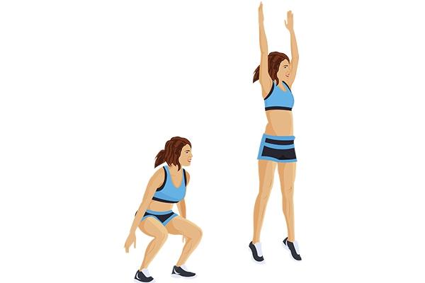 Bài tập Jump Squat