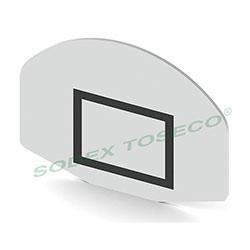 Bảng rổ Composite hình quạt S14522
