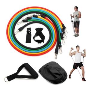 Bộ dây đàn hồi tập Gym 5 màu