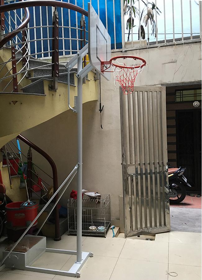 Trụ bóng rổ cho học sinh